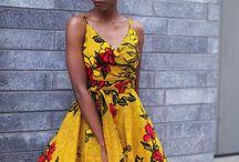 vestido afro