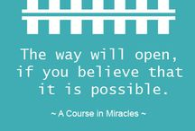 ACIM - A Course in Miracles / A book for spiritual transformation