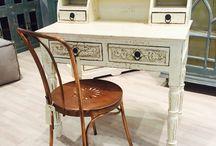 Vintage møbler / Vi opkøber massevis af vintage møbler. Restpartierne er ofte i begrænset partier, men vi har næsten hele tuden nyt på vej