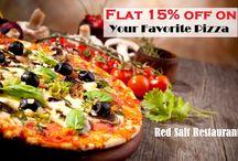 15% Off ON Pizzas - Mon to Thur