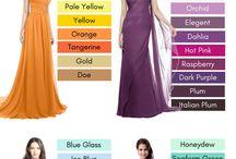 bridesmaid & family dress