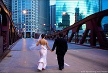 Chicago Weddings / Stunning wedding shots on location in Chicago.
