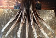 Cheveux Layage-Hairpainted / Coloration-Haircolor-Hairpainted-Layage