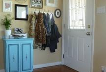 Front door area