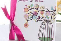 Ribbon Wedding Invitations / by InvitesWeddings