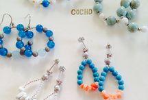 Handmade jewels / ハンドメイドの色々  http://minne.com/cocho