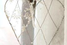 Srdíčka šitá i jinak vyrobená