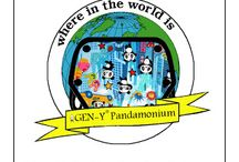 """GEN-Y Pandamonium's World Travels / """"Where in the world is GEN-Y Pandamonium?"""" is a traveling cloth diaper cover promotion.  Our Pandamonium Cover is photographed in various locations around the globe and then fans have to guess where it is.  #clothdiapers #gen-ydiapers"""