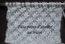 TRICOT POINT D'ETOILE