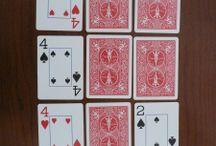 Card games, etc.