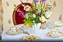 Afternoon Tea at Upper House / Upper House provides the perfect setting for an elegant countryside wedding, special party or event. If you wish, you can make use of our beautiful central courtyard, Medieval Banqueting Hall or a stylish marquee to host an indulgent afternoon tea party.  Dainty finger sandwiches, delicate cakes and freshly made scones can be served on fine vintage porcelain. You may wish to add chilled Champagne to the menu, it's up to you!
