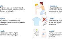 DERMO / Tablero sobre dermo cosmética