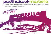PadthaiWok Marbella / C/ Félix Rodriguez de la Fuente S/n. Esquina con Av. Nabeul. Tel.: 952 821 635