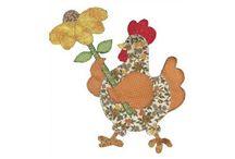 pasta de galinhas