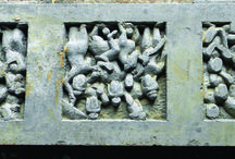 """Gandhara Sculptors and stone carvers / Sculptors and stone carvers known as """"miracle-warrior of Taxila"""" who are famous across the globe for their excellent masterpieces from Gandhara art by producing hundreds of unique replicas on black and schist stone."""