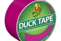 Color Duck Tape / Duck® brand duct tape comes in a vibrant assortment of colors and is the simple solution for your toughest or most creative craft and DIY projects. / by Duck Brand