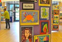 Art Classroom: Shows/Collaborative Displays