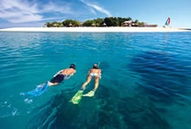 South Sea Island, Fiji / This uninhabited island is surrounded by crystal clear waters and magnificent coral reefs. For the greatest fun under the sun your can't beat a day trip to South Sea Island, just 30 minutes from Denarau by one of our high-speed catamarans.