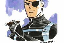 Nick Fury / Classic Nick Fury - Agent of Shield