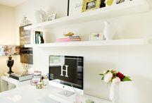 {Interior - Home office/work space} / You do need a place in your home where you can concentrate, organize and do your job