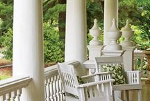 Graceful Living: The Front Porch / Elegant Front Porches