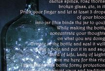 WICCA:magic of: bottle/ball