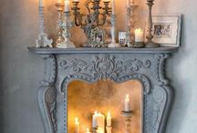 Fireplace Decor / by Anne Holstead