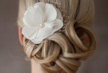 wedding hair/make up
