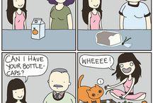 funnies / by Janet Kestle