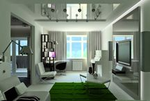 litghing and a Game of Shadows in home and living room / litghing and a Game of Shadows in home and living room