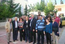 3-11-2013 στο Καματερό. / Συμμετοχή των μελών της Δημ.Τ.Ο. Πετρούπολης στη δράση ΣΤΗΡΙΖΩ στο Καματερό.