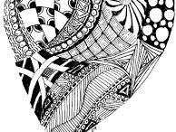 Zentangle Designs / Today I discovered my style of illustration has a name. ZENTANGLE!!