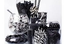 Black and white masquerade ball
