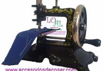 Máquinas de coser para decorar