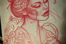 Disegni tattoo