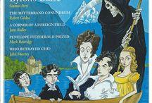 Bookish / Bibliomania: cartoons of authors, quotations, libraries, bookshelves, bookshops ...