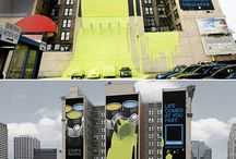 ADVERTISING / public space interventions