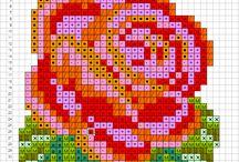 Бисероплетение, схемы. / Схемы для плетения изделий из бисера.