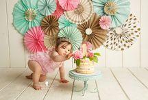 cake smash girly