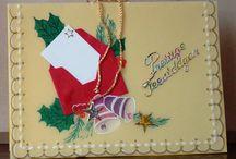 kerstkaarten / zelfgemaakte kerstkaarten