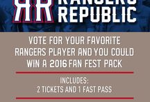 Rangers Republic / Promotional Happenings for Rangers Republic - rangersrepublic.com / by Texas Rangers
