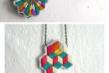 embroidery necklaces