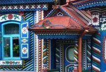 maľované domy