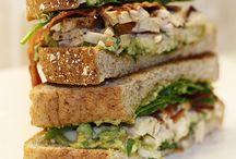 sandwiches / by Brittany Wyman