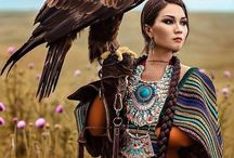 Ethno images / ethnic themes, different nations, the Indians, Africa, ethnic costumes, China, Japan, ethno ideas, decor and so on