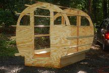 Gypsy caravan DIY
