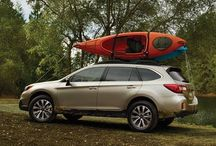 Subaru Outback / Built to take you to the place you've never been.