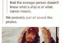 Pirates of the Carribean / Johnny Depp