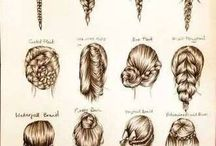 2014 Resolution Hair Styles / Right now, I don't even know how to blow-dry my hair. That will change in 2014 though. This year, I will try a new hair style every week. / by Arielle Zuckerberg