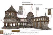 Yapı Design / Oyun içerisindeki yapıların tasarım görselleri